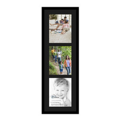 ArtToFrames - ArtToFrames Collage Photo Frame  with 3 - 11x14 Openings - This modern Satin Black, 1.25 inch wide collage frame, comes equipped with an arrangement for 3 - 11x14 prints of your choice. This collage is part of an array collage frame compilation and boasts a vast line of premium quality frames at a low-cost you can feel good about! Built from hand and developed to outfit your prints making sure you 3 - 11x14 art will fit just right. Bordered in a striking Satin Black, flawless frame and accompanied by a clean Black mat, the collage arrangement absolutely showcases your prized artwork, and your most favorite memories in an entirely special and new way. This collage frame comes protected in Regular Plexi Glass, easy-to-use with proper hardware and can be presented within a few seconds. These superior quality and rustic wood-based collage frames change in style and size; all in contemporary and modern design. Mats are available in a assemblage of color tones, openings, and shapes. It's time to tell your story! Preserving your sharing your memories in an original and brilliant brand-new way has never been easier.