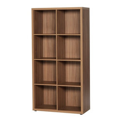 Unilin Division Panels - didit click furniture 8 Cubby Open Cabinet - 29W in. - Italian Walnut Brown - 42 - Shop for Bookcases from Hayneedle.com! The didit clic furniture 8 Cubby Open Cabinet - 29W in. - Italian Walnut is a stylish and sturdy bookcase that assembles in a snap. No screws no tools no frustration - simply click and it's ready for all your stuff. The convenient open cabinet design and is built of laminate with an Italian walnut finish that makes it perfectly modern. Eight spacious cubbies properly showcase your books and display pieces.About UnilinUnilin for smart living. Unilin is 50-year-old company based in Belgium that is part of the American Mohawk Industries Inc. Unilin creates a variety of home products including flooring division panels and insulation. From the start they have focused on discovering ways to utilize sustainable products recycle and maximize green activities. Unilin stands for (r)evolution. They innovate by investing in design research and development and the latest technologies. Unilin aims to create top-quality home products that are as beautiful as they are convenient.