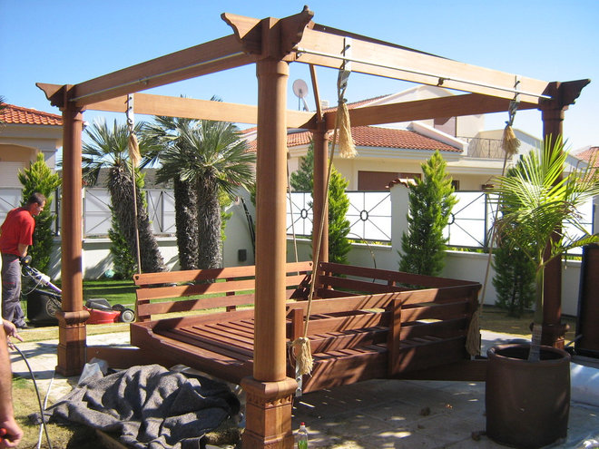 Eclectic Outdoor Swingsets by prizma ltd.