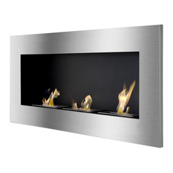 IGNIS - Ignis Recessed Bio Ethanol Fireplace Optimum - *Design Patent Pending - 29/469,476