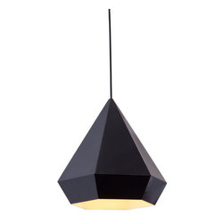 Zuo Modern Forecast Ceiling Lamp in Black - Zuo Modern Forecast Ceiling Lamp in Black/strong>