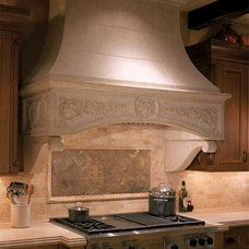 Traditional Range Hoods And Vents by Stone Solutions and More