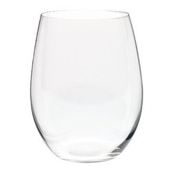 Riedel O Cabernet/Merlot Wine Tumblers - Riedel's O series is the standard in stemless. This was one of the first wineglasses I ever owned.