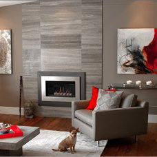 Contemporary Living Room by P. Rogers Designs.com