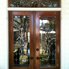 Contemporary Front Doors by Clever Panes