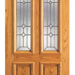 "Mahogany Twin Lite Home Single Door, Insulated Beveled Glasswork - SKU#101-B-1BrandAAWDoor TypeExteriorManufacturer CollectionUnique Entry DoorsDoor ModelDoor MaterialWoodWoodgrainMahoganyVeneerPrice1028Door Size Options30"" x 80"" (2'-6"" x 6'-8"")  $032"" x 80"" (2'-8"" x 6'-8"")  $036"" x 80"" (3'-0"" x 6'-8"")  +$2042"" x 80"" (3'-6"" x 6'-8"")  +$150Core TypeSolidDoor StyleTraditionalDoor Lite StyleTwin Lite , 2/3 LiteDoor Panel Style2 Panel , Raised MouldingHome Style MatchingColonial , Plantation , VictorianDoor ConstructionEngineered Stiles and RailsPrehanging OptionsPrehung , SlabPrehung ConfigurationSingle DoorDoor Thickness (Inches)1.75Glass Thickness (Inches)3/4Glass TypeTriple GlazedGlass CamingBlackGlass FeaturesInsulated , TemperedGlass StyleGlass TextureGlue ChipGlass ObscurityModerate ObscurityDoor FeaturesDoor ApprovalsFSCDoor FinishesDoor AccessoriesWeight (lbs)340Crating Size25"" (w)x 108"" (l)x 52"" (h)Lead TimeSlab Doors: 7 daysPrehung:14 daysPrefinished, PreHung:21 daysWarranty1 Year Limited Manufacturer WarrantyHere you can download warranty PDF document."