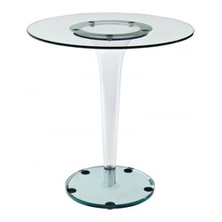 Modway Imports - Modway EEI-1067-CLR Gossamer Dining Table In Clear - Modway EEI-1067-CLR Gossamer Dining Table In Clear