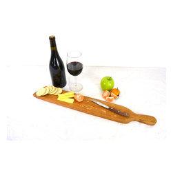 Wine Barrel Cutting Board -