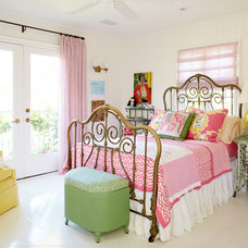Eclectic Bedroom by Alison Kandler Interior Design