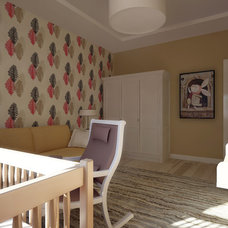 Contemporary Nursery by VANGUARD development