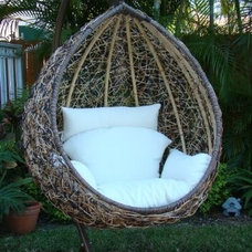Mediterranean Hammocks And Swing Chairs by Cassidy Interiors