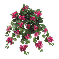 Silk Plants Direct - Silk Plants Direct Bougainvillea Hanging Bush (Pack of 12) - Silk Plants Direct specializes in manufacturing, design and supply of the most life-like, premium quality artificial plants, trees, flowers, arrangements, topiaries and containers for home, office and commercial use. Our Bougainvillea Hanging Bush includes the following:
