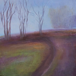 Seasons 1 (Original) by Teresa Mccue - As a native to New England, the seasons are a recurring theme in my work.  This panting is about the promise of spring.