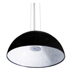 Modernist Miracle Lamp in Black - Modernist Miracle Lamp