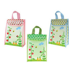 Green Sprouts - Green Sprouts Reusable Lunch Bag - You've gone through all that work establishing a paperless kitchen. Don't let it be spoiled by paper Bags leaving your home with your kids' lunches inside! The Green Sprouts Reusable Lunch Bag is the perfect alternative to brown paper Bags for lunches.