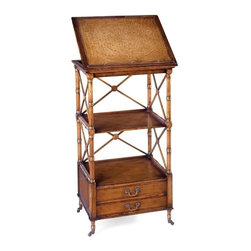 Jonathan Charles - New Jonathan Charles Bookcase Walnut Windsor - Product Details