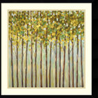 Amanti Art - Different Shades of Green Framed Print by Libby Smart - This print is a beautiful rendering of the piercingly bright greens and delicate growth of spring. It's already professionally matted and framed with gallery quality acrylic glazing. No matter the season, you'll appreciate this vibrant work on your wall.