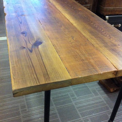 Reclaimed Dining Table - Brent Hollenberg
