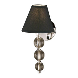 Dale Tiffany - New Dale Tiffany 1-Light Wall Sconce Chrome - Product Details