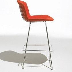 Knoll - Bertoia Barstool, Fully Upholstered | Knoll - Design by Harry Bertoia, 1952.