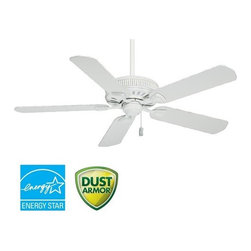 "Casablanca - Casablanca 54000 Ainsworth 54"" 5 Blade Energy Star Ceiling Fan - Blades Included - Included Components:"