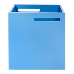 Temahome - Temahome Berlin Box, Light-Blue - An accessory that will add a splash of colour every place storage is needed.TemaHome produces a collection of contemporary furniture and decorative accents, that combine modern lines and award winning designs by some of the most respected Portuguese designers, such as Fernando Brizio and Filipe Alarcao. This attention to the design of each product, results in timeless pieces that can fit into an endless variety of contexts.