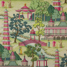 Asian Fabric by Manuel Canovas Designs