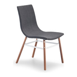 ZUO MODERN - Stavanger Chair Graphite Fabric (set of 4) - Stavanger Chair Graphite Fabric