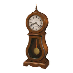 Howard Miller - Howard Miller Cleo 84th Anniversary Edition Mantel Clock in Chestnut - Howard Miller - Mantel / Table Clocks - 635162 - For over 70 years Howard Miller has understood the need to create products that are steeped in quality and value and to never expect anything less than the best. No matter the price of the purchase you have Howard Miller's assurance of quality that is reflected in both the products they create and in the people whose artistic talents they rely on to manufacture them. Incomparable workmanship. Unsurpassed quality. A quest for perfection.