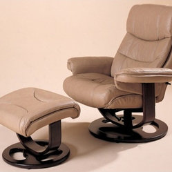 Rebel Essentials Leather Ergonomic Recliner