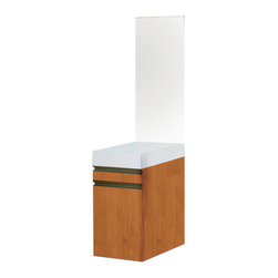 Decolav - Decolav Eastridge Bathroom Storage Cabinet - Decolav Eastridge Bathroom Storage Side Cabinet