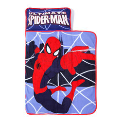 Betesh Group - Marvel Ultimate Spiderman Toddler Nap Mat - FEATURES: