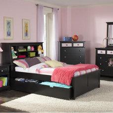Contemporary Bedroom Prepac Furniture - NylaExpress.com