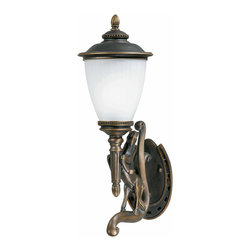 Triarch International - Triarch 75330-14-L Stallion Oil Rubbed Bronze Outdoor Wall Sconce - Triarch 75330-14-L Stallion Oil Rubbed Bronze Outdoor Wall Sconce
