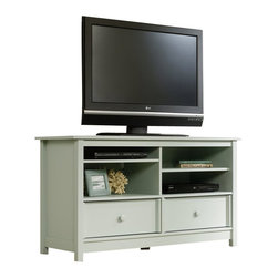 Sauder - Sauder Original Cottage TV Stand in Rainwater - Sauder - TV Stands - 414239 -