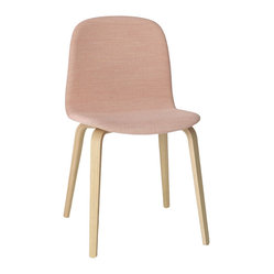 Visu Chair with Wood Frame