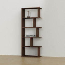 Tapi Bookcase by Decortie Wenge - Decortie