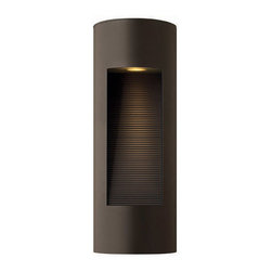 Hinkley Lighting - Hinkley Lighting 1660BZ Luna Bronze Outdoor Wall Sconce - Hinkley Lighting 1660BZ Luna Bronze Outdoor Wall Sconce