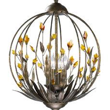 Eclectic Pendant Lighting by Liquid Design Studios LLC