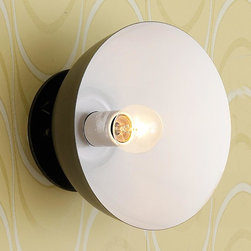 Convertible Ceiling to Wall Color Pop Sconce -