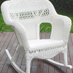 Home Decorators Collection - Sahara Outdoor Rocker - Perfect for a variety of decorating styles, the Sahara Rocker displays a look of casual elegance for lasting appeal. You'll like the finely woven detailing and you'll love the all-weather design of this patio furniture. No patio is complete without a rocking chair; order today.Hand-woven of UV-resistant resin wicker with a rattan frame.Virtually maintenance free; cleans easily with a mild detergent.Ideal for outdoor and indoor use.