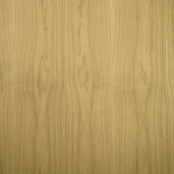 Flat Cut Walnut Veneer - Flat sawn American Walnut veneer, sometimes referred to as black Walnut, is light grayish brown to chocolate brown in color. It has a fine to medium texture and finishes nicely with stain or natural clear coats. Available in a variety of backers and sizes.