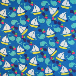 "SheetWorld - SheetWorld Fitted Pack N Play (Graco) Sheet - Whale Watching - Made in USA - This 100% cotton ""woven"" pack n play sheet features a cute sale boat and whale print. Our sheets are made of the highest quality fabric that's measured at a 280 tc. That means these sheets are soft and durable. Sheets are made with deep pockets and are elasticized around the entire edge which prevents it from slipping off the mattress, thereby keeping your baby safe. These sheets are so durable that they will last all through your baby's growing years. We're called sheetworld because we produce the highest grade sheets on the market today. Size: 27 x 39. Not a Graco product. Sheet is sized to fit the Graco playard. Graco is a registered trademark of Graco."