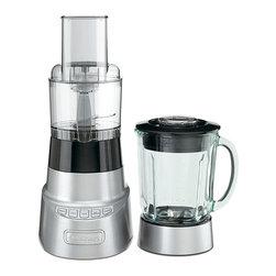 Cuisinart - Cuisinart BFP-603 SmartPower Deluxe Blender and Food Processor - Capacity: 3-cup food processor,48-ounce thermal shock-resistant borosilicate glass jar Motor: 600 WattsHigh-performance 600-watt motor