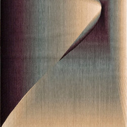 """Nourison - Nourison Radiant Arts RA03 (Opal) 7'9"""" x 10'10"""" Rug - Artwork worthy of any modern museum collection, these designs are seemingly painted from prisms of bending light. Subtle differences in hues create these stylish artistic effects."""