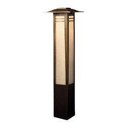 Kichler Lighting - Kichler Lighting 15392OZ Zen Garden 1 Light Pathway/Landscape Lighting - Bollard 1-Lt 12V