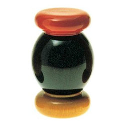 Alessi - Alessi Salt Grinder - Bring the warmth of an Italian-inspired table to your decor with this colored beechwood salt grinder. Freshly ground salt in a stylish container? Who could resist!