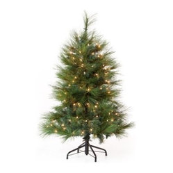 Green Feather Cashmere Pine Christmas Tree