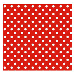 "SheetWorld - SheetWorld Fitted Oval Crib Sheet (Stokke Sleepi) - Primary Polka Dots Red Woven - This luxurious 100% cotton ""woven"" oval crib (stokke sleepi) sheet features white polka dots on a solid red background. Our sheets are made of the highest quality fabric that's measured at a 280 tc. That means these sheets are soft and durable. Sheets are made with deep pockets and are elasticized around the entire edge which prevents it from slipping off the mattress, thereby keeping your baby safe. These sheets are so durable that they will last all through your baby's growing years. We're called SheetWorld because we produce the highest grade sheets on the market today. Size: 26 x 47."