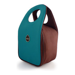 Milkdot - Stöh Lunch Tote, Blue Raspberry - Stöh is a modern yet practical solution for a lunch bag that combines clean and simple design with features perfect for stowing your favorite food, drink and utensils and cool enough for the whole family to carry too. Sleek and timeless, Stöh is for all-ages. Lightweight and folds flat for easy storage after use.